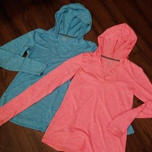 Bundle of long sleeve BCG gym tops size S